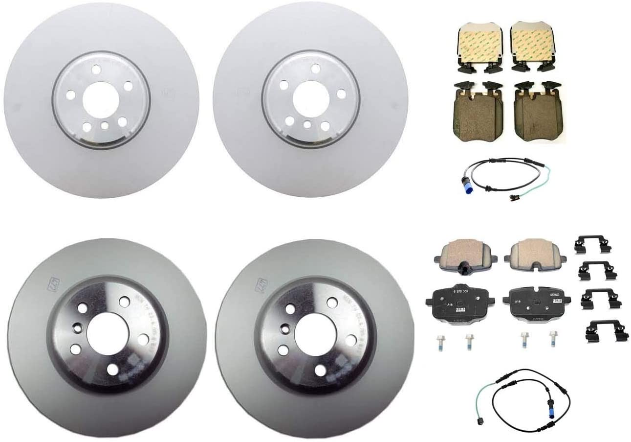 Large special price !! Genuine Front Rear Brake Kit Disc Fixed price for sale Rotors For Sensors Pads BMW