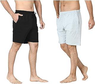 Pierre Calvini Men's Cotton Jersey Shorts (2pk)