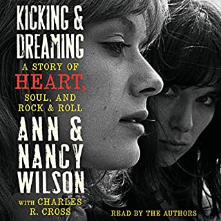 Kicking and Dreaming audiobook cover art