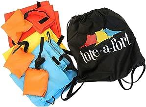 TOTE  A  FORT Blanket Fort Kit for Kids, The Original, Kids Fort, Portable Blanket Fort
