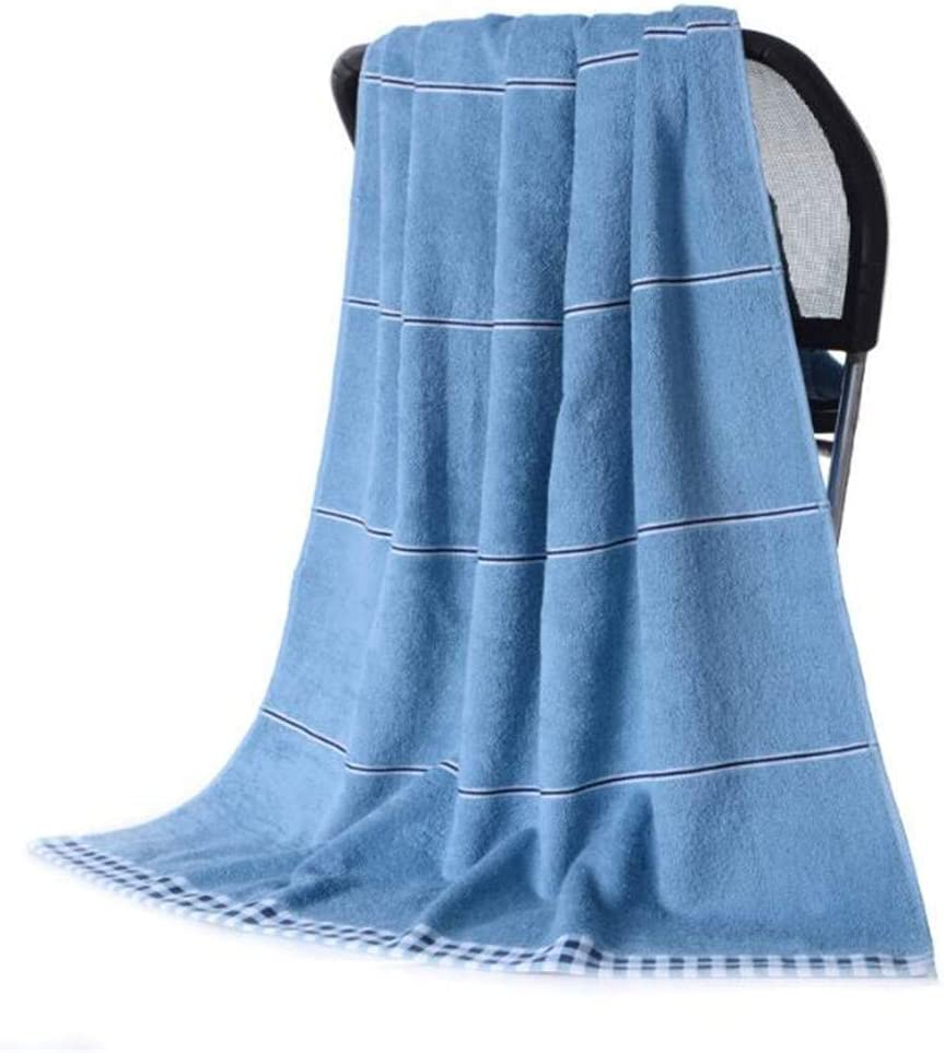 YIH 4 Piece Blue Bath Towels Max 40% OFF Extra Prime Ranking TOP17 Large 31 inches 63 by