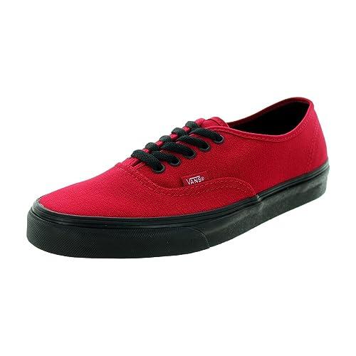 Black and Red Vans  Amazon.com 8a93a42ec