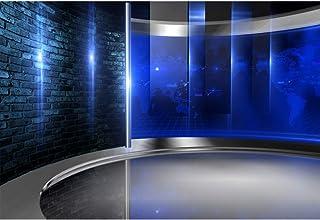 CSFOTO Studio Hintergrund für Fotografie, Konzert Interview, Wettervorhersage, Programm, Dekoration, Bildschirme, Innendekoration, Erwachsene, Portraits