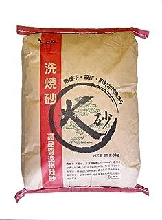 焼き砂 洗い砂 放射能検査済み 安全 【高品質遠州珪砂 K砂】