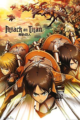 GB eye LTD, Attack on Titan, Poster, 61 x 91,5 cm