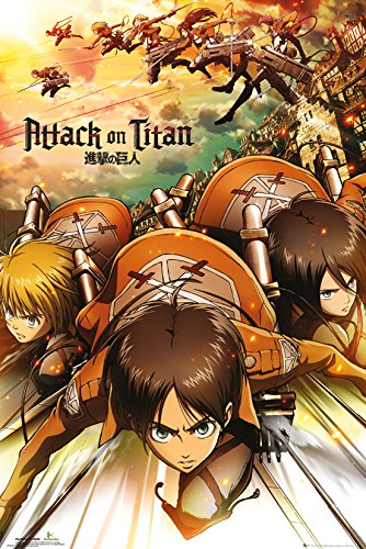 GB eye LTD, Attack on Titan, Poster, 61 x 91,5 cm