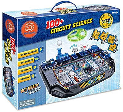 Kid Genio STEM Toys Circuit Lab Electronics Exploration Kit 100 STEAM Projects from Kid Genio