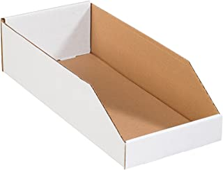 Aviditi BINBWZ818 Corrugated Open Top Bin Box, 18