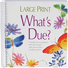 Whats Due Organizer Book