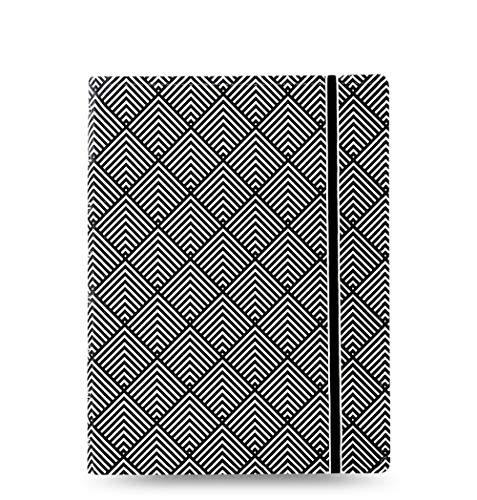 Filofax Notebook Impressions Black & White DIN A5, 115067