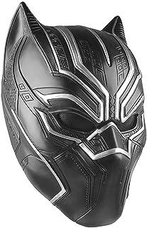 comprar comparacion Máscara de látex Negro Pantera Cosplay Máscara Negro para Hombres Adultos