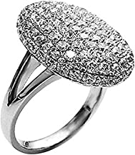 Dream-Store Women's Silver-Tone Sparkle Bella Swan Engagement Ring