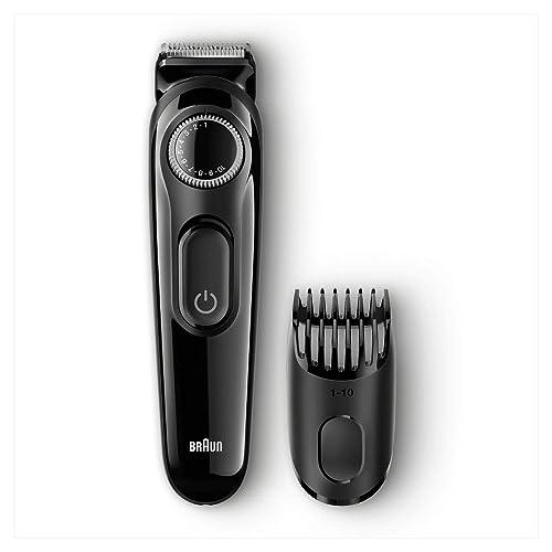 Braun Tondeuse à Barbe Noir - Tondeuse Barbe / Cheveux Sans Fil Homme