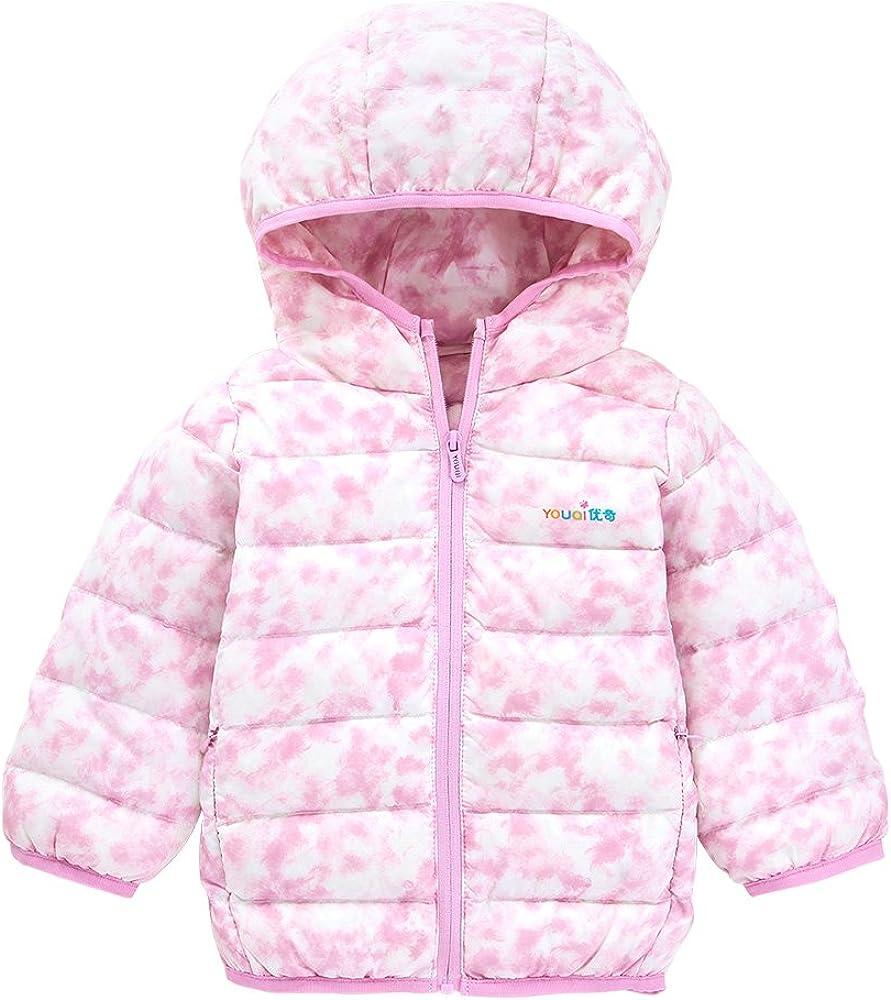 YOUQI Baby Girls Clothes Kids Boys Light Down Coat Winter Jacket Outerwear Snowsuit
