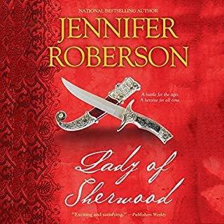 Lady of Sherwood audiobook cover art
