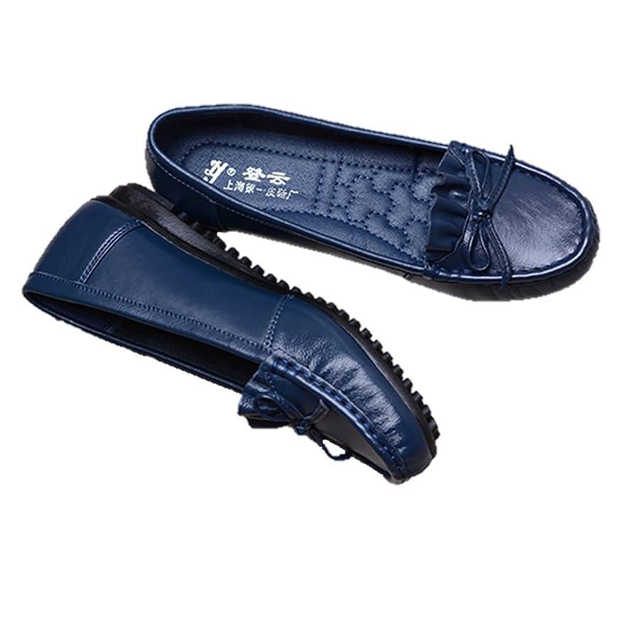 机朝ごはん移動するレディース スニーカー サブリナ シューズ ドライビング ぺたんこ フラット レザー モカシン 靴 婦人靴 K13767