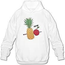 Firewei PPAP Pen Pineapple Apple Pen Men's Hooded Sweatshirt