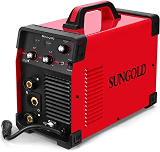 SUNGOLDPOWER 200Amp MIG MAG ARC MMA Stick DC Welder 110/220V Dual Voltage IGBT Inverter..
