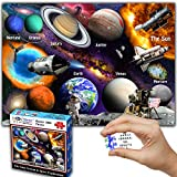Think2Master Solar System & Space Exploration 1000 Pieces Jigsaw Puzzle for...