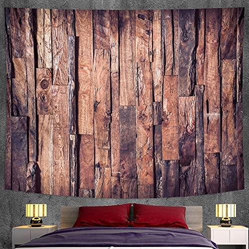 PPOU Hermoso Tapiz de Madera Colgante de Pared decoración del hogar decoración Bohemia Fondo Tela Manta Tela Colgante A5 100x150 cm