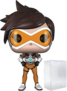 Funko Games: Overwatch - Tracer Pop! Vinyl Figure (Includes Compatible Pop Box Protector Case)