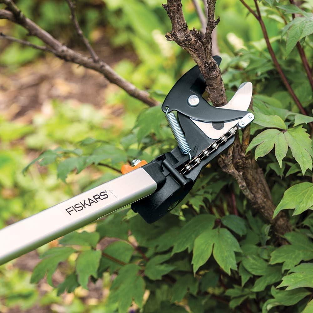 Fiskars 7.9-12 Foot Extendable Tree Pruning Stik Pruner 92406935K