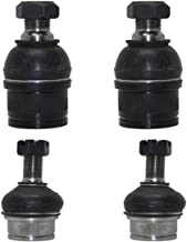 4x4 Models Only - Detroit Axle - New Front 4-Piece Upper & Lower Ball Joint Set - for Ram 2500/3500 4WD w/DANA 60 Axle - [Ford Excursion, F-250/F-350 4wd]