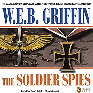 The Soldier Spies audiobook cover art
