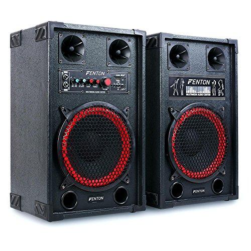 test Fenton SPB-10 – Lautsprecherset für öffentliche Adressen, aktive und passive Einheiten, maximal.  600W.  8 Ohm, 25 cm… Deutschland