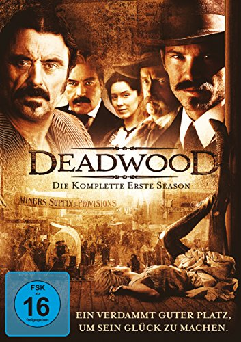 Deadwood - Die komplette erste Season [4 DVDs]