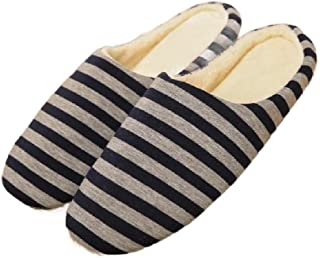 Howely Womens Indoor Casual Closed Toe Flat Comfy House Slippers