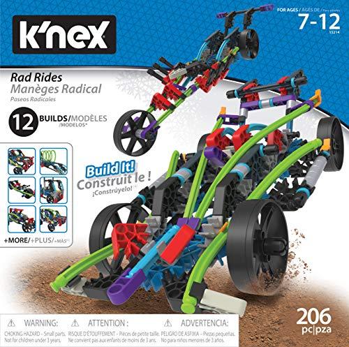 K'Nex Cars Rad Rides - 12 in 1 - Construction Toy Building Set Funktions- & Standmodellbau   Mehrfarbig