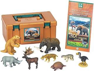 カロラータ 新生代 絶滅動物ボックス (立体図鑑) 哺乳類 鳥類 リアル フィギュアボックス [解説書付き] 食品衛生法クリア 8種