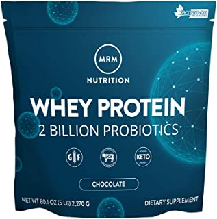 MRM Whey Protein Powder - 5 lbs - Chocolate