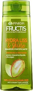 Garnier Fructis Hydra Liss Shampoo per Capelli Difficili da Lisciare, 250 ml