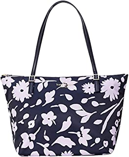 حقيبة جلد للنساء من كيت سبيد -نافي فارسي/متعددة الالوان - PXRUA460
