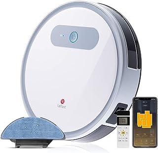 LEFANT Robot Aspirador y Fregasuelos, M501-A Succión Fuerte 2000Pa con Sensores Anticaída, Programable App, Autocarga, Asp...