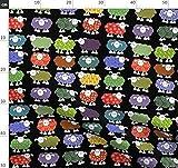Multicolor, Bauernhof, Bauernhoftier, Lamm, Schaf Stoffe -