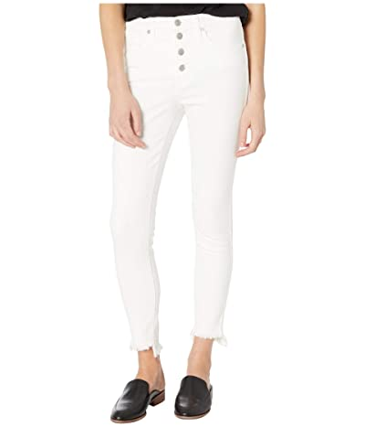 Madewell 10 High-Rise Skinny Jeans in Pure White (Pure White) Women