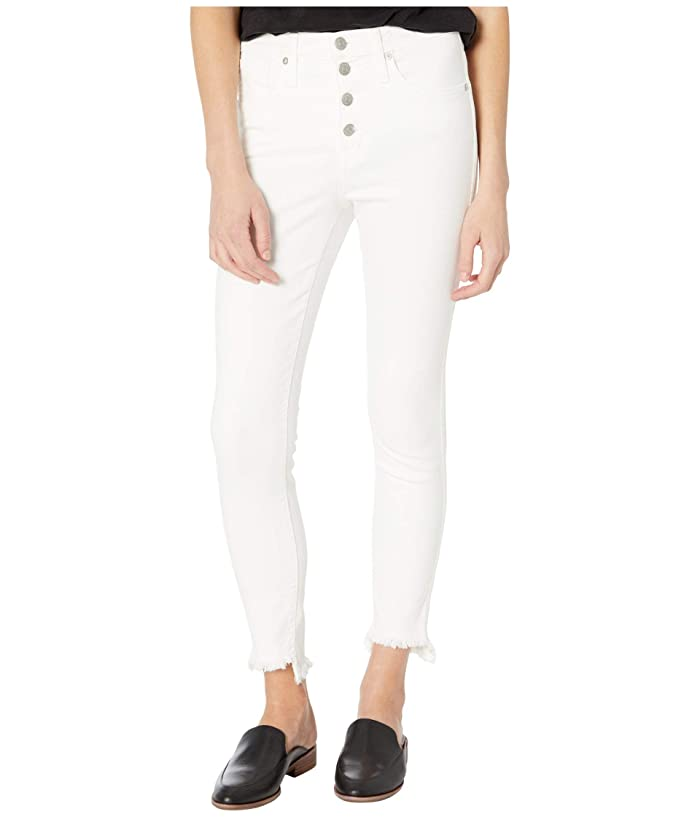 Madewell  10 High-Rise Skinny Jeans in Pure White (Pure White) Womens Shorts