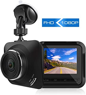 Apexcam Dash Cam 1080P Full HD Driving Recorder Mini Car Camera DVR Dashboard Camera 170° Wide Angle Super Night Vision G-Sensor,Motion Detection,Loop Recording,Parking Monitor