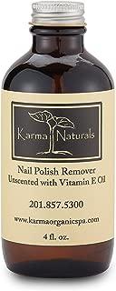 Karma Organic Nail Polish Remover Unscented - 4 fl. oz.