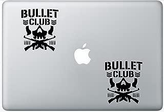 bullet club window decal