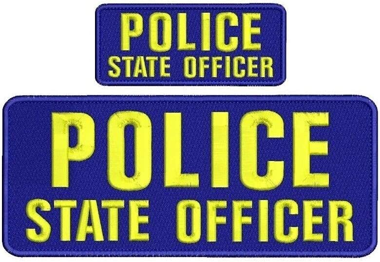 Embroidered Patch Outlet sale feature - Patches for Max 75% OFF Women Man Officer State Police