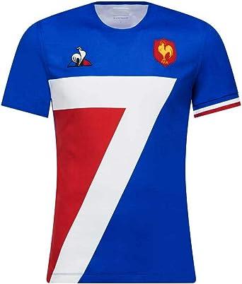 Le Coq Sportif – Camiseta de rugby de 7 Francia – Domicile 2018/2019 para adulto azul XL: Amazon.es: Ropa y accesorios