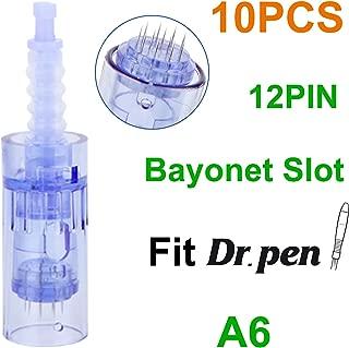 Dr.Pen Ultima A6 12 Pins Cartridges, Disposable Replacement Parts (10pcs) 0.25mm