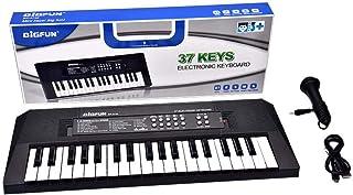 37 Keys Digital Music Electronic Keyboard Key Board Electric Piano Children Gift, US Plug Early Educational Tool for Kids