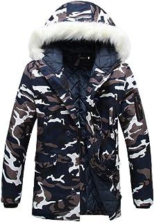 Giacca Invernale da Uomo Warming RM Giacca Parka Giacca Abbigliamento Trapuntata Vintage Giacca Sportiva Giacca da Uomo Ca...
