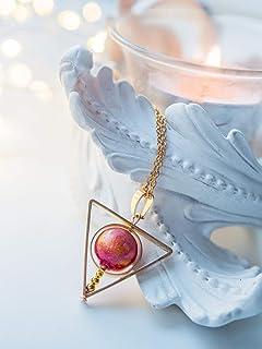 Collana di sole, collana di spinner, gioielli celestiali, regalo di gioielli di Sun per lei, gioielli di astronomia, gioie...