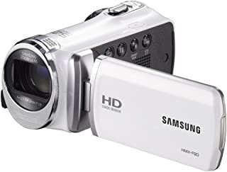 Samsung F90 White Camcorder with 2.7